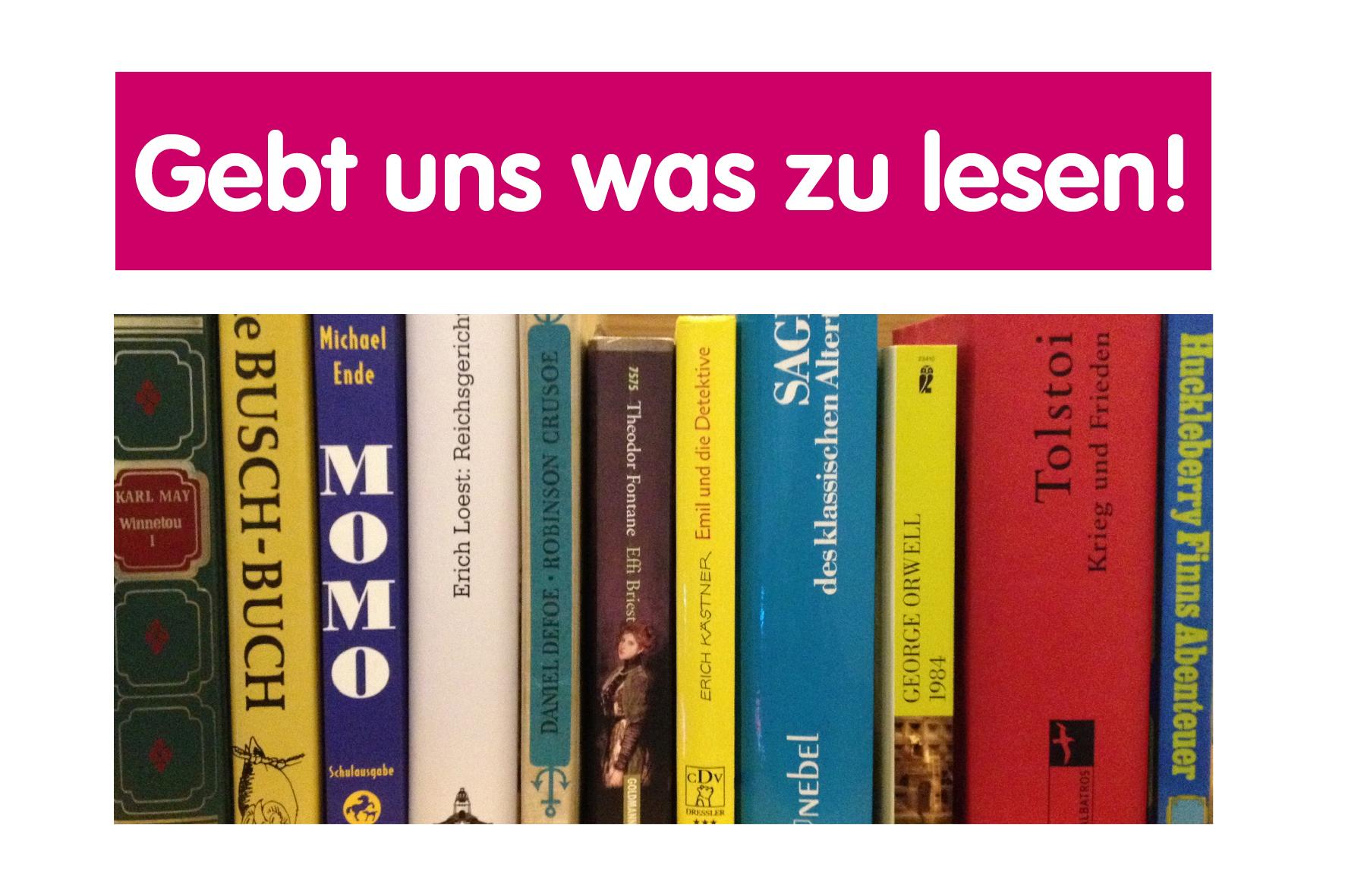 Bücher gesucht!