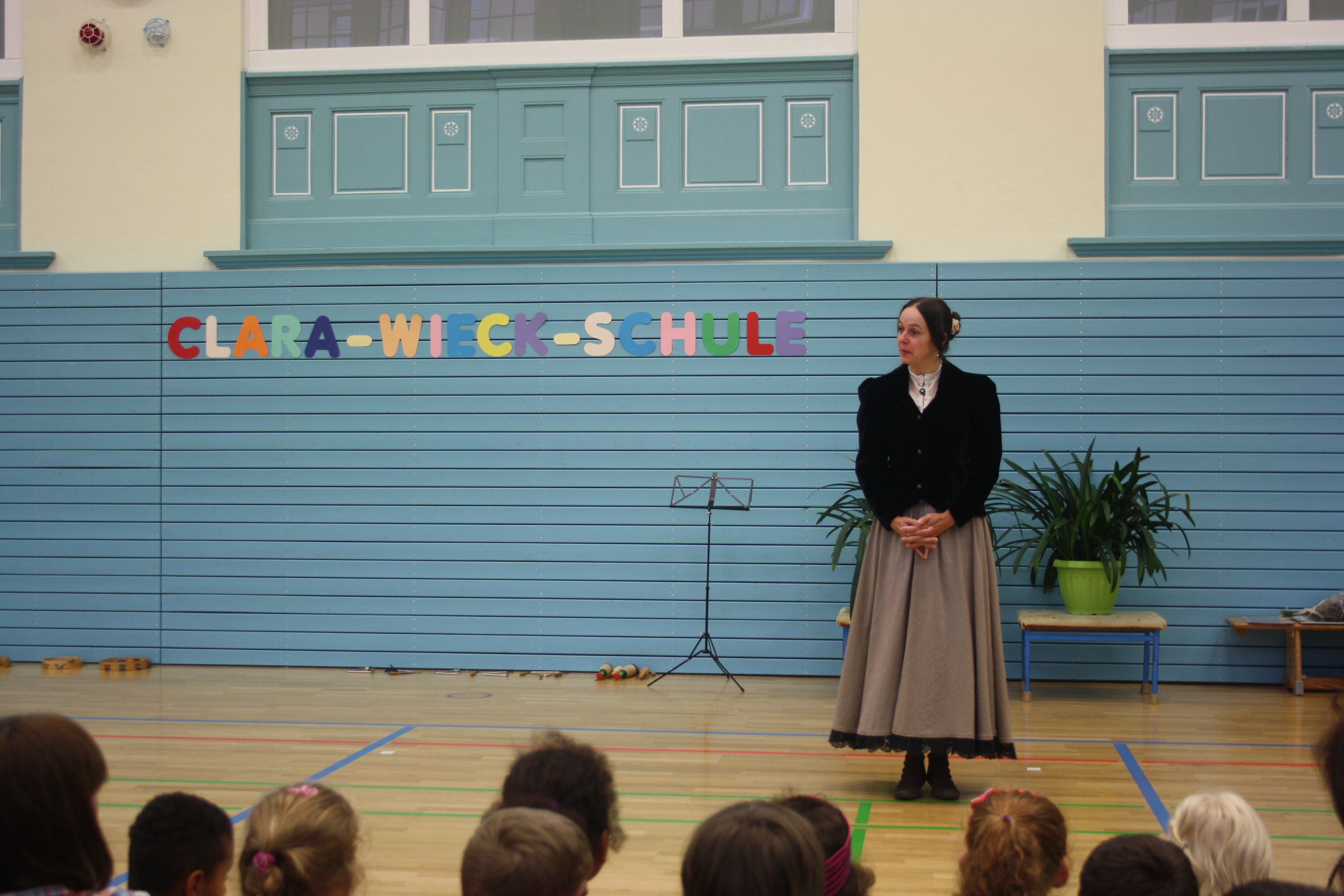Aus 21. wird Clara-Wieck-Schule