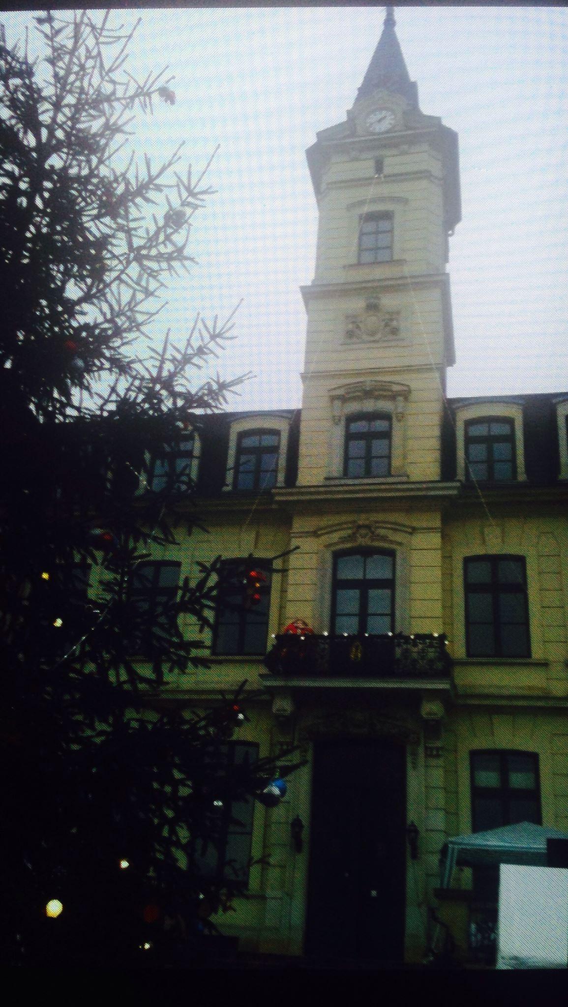Traditionell gibt es zum Adventsmarkt auch einen Weihnachtsbaum. Foto: Birgit Dietze
